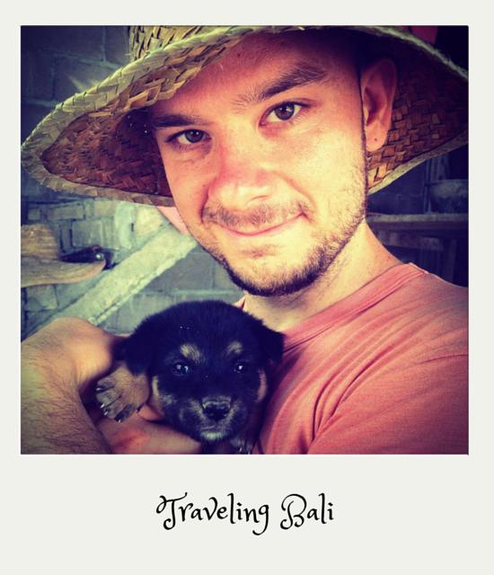 Luis Congdon traveling Bali