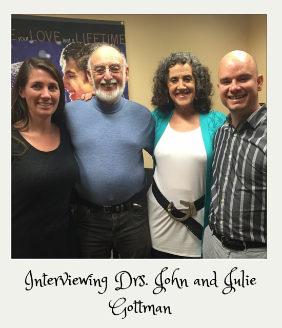Dr.s John and Julie Gottman with Luis Congdon and Kamala Chambers