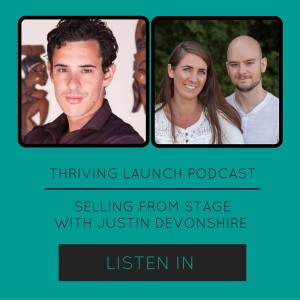 Sell High-Ticket Offers From Stage - Justin Devonshire