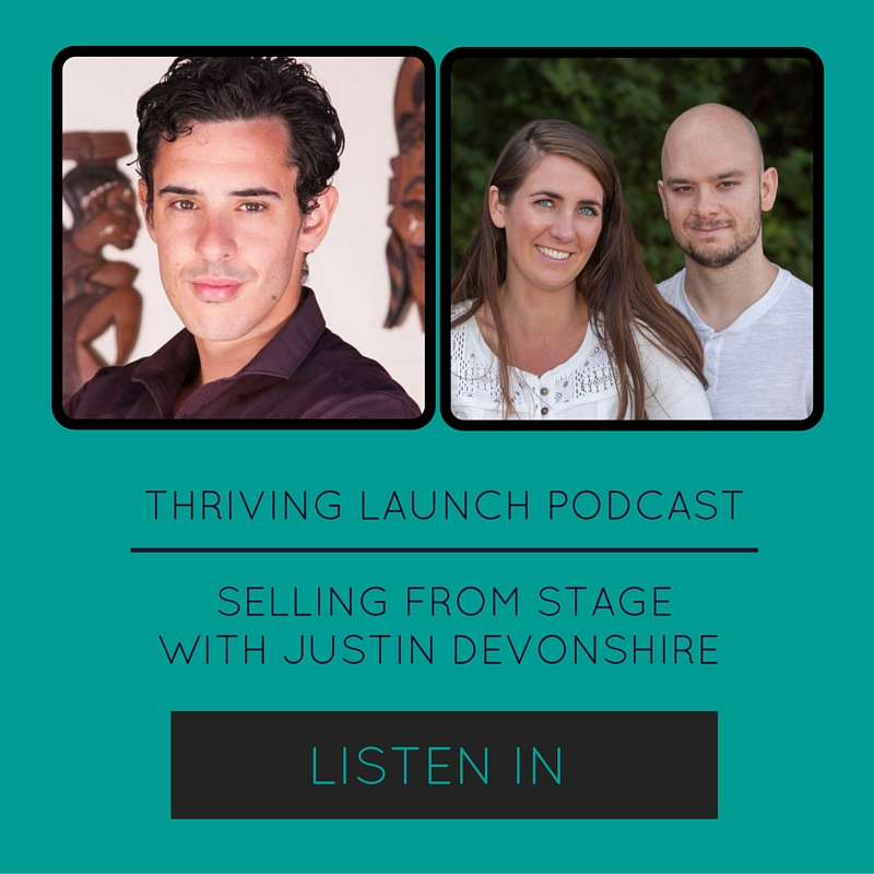 Sell High-Ticket Offers From Stage – Justin Devonshire