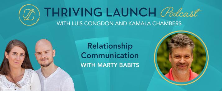 Relationship Communication – Marty Babits