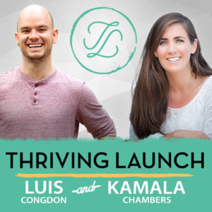 Leadership podcast Thriving Launch