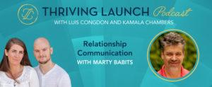 Relationship Communication - Marty Babits