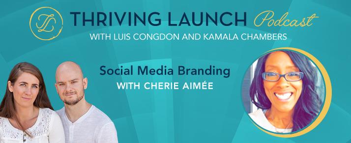 Social Media Branding - Cherie Aimée