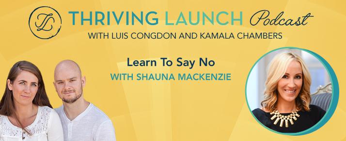 Learn To Say No – Shauna Mackenzie