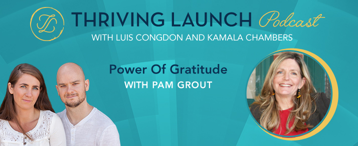 Power Of Gratitude – Pam Grout
