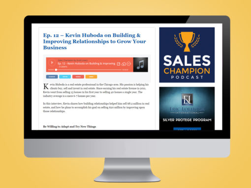 Sales Champion Podcast Website