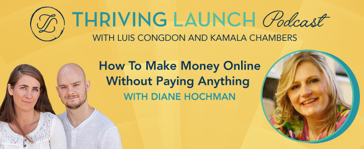 How To Make Money Online Without Paying Anything – Diane Hochman