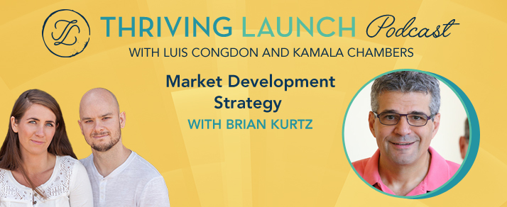 Market Development Strategy – Brian Kurtz