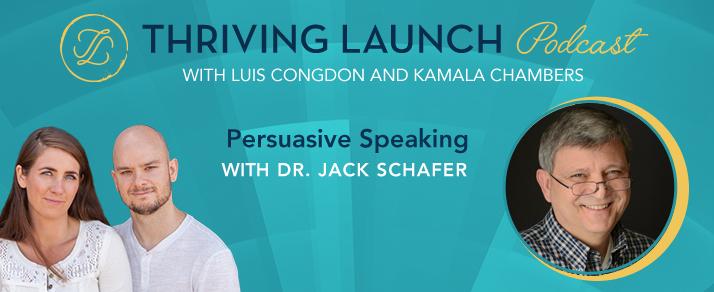 Persuasive Speaking – Dr. Jack Schafer