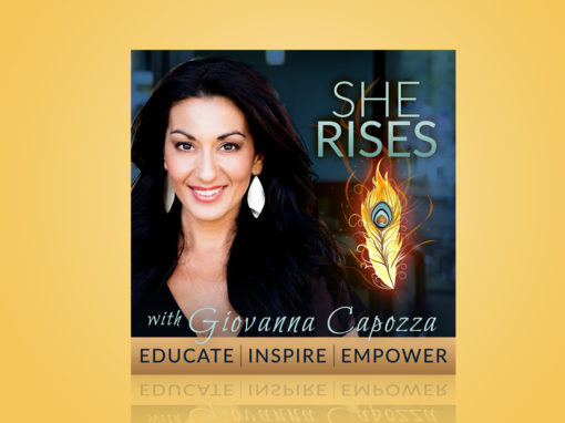 She Rises Podcast Cover