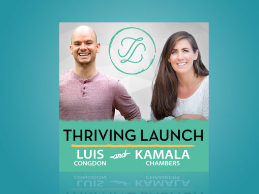 Thriving Launch Podcast Cover