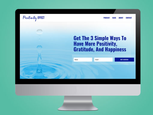 Positivity Effect Podcast Website