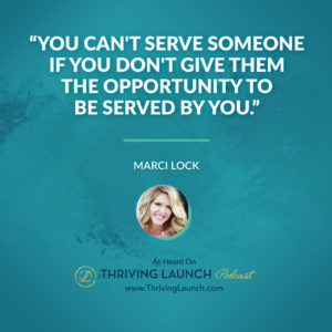 Marci Lock Make Money on Facebook Thriving Launch Podcast