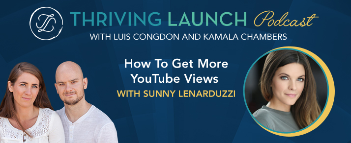 How To Get More YouTube Views - Sunny Lenarduzzi