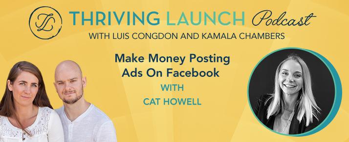 Make Money Posting Ads On Facebook - Cat Howell