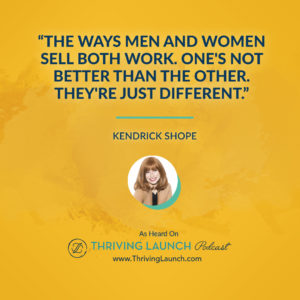 Kendrick Shope Women In Business Thriving Launch Podcast