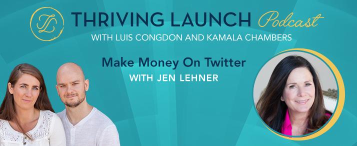 Make Money On Twitter - Jen Lehner