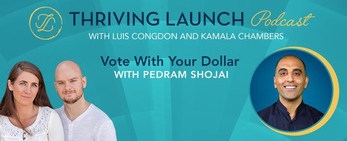 Vote With Your Dollar – Pedram Shojai