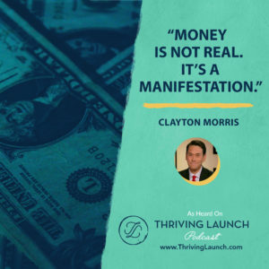 Clayton Morris Financial Freedom Thriving Launch Podcast