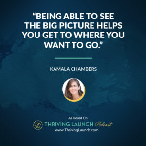 Kamala Chambers Seeing The Big Picture Thriving Launch Podcast