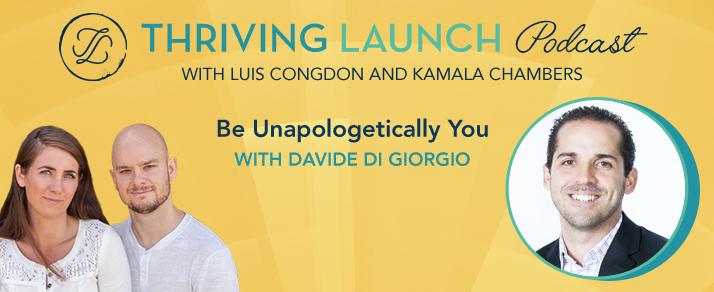 Be Unapologetically You – Davide Di Giorgio