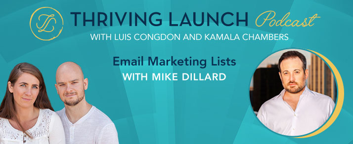 Email Marketing Lists – Mike Dillard