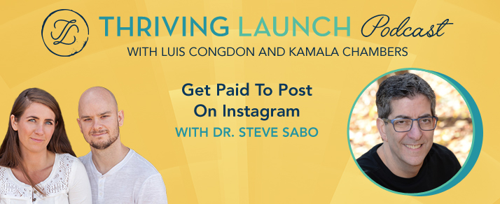 Get Paid To Post On Instagram - Dr. Steve Sabo