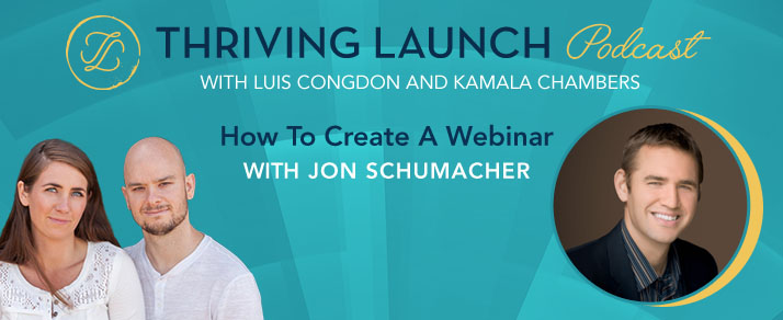 How To Create A Webinar - Jon Schumacher