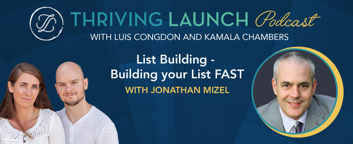 List Building – Building your List FAST – Jonathan Mizel