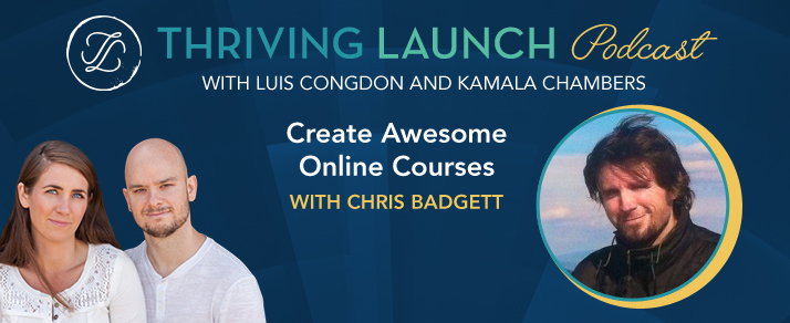 Create Awesome Online Courses - Chris Badgett
