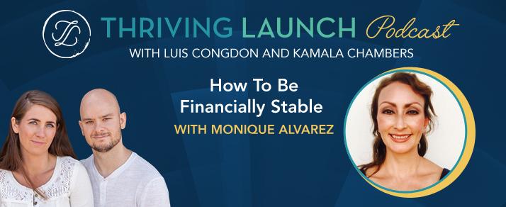 How To Be Financially Stable - Monique Alvarez