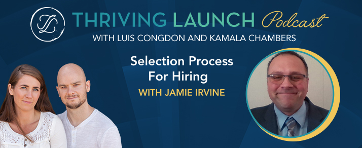 Selection Process For Hiring – Jamie Irvine