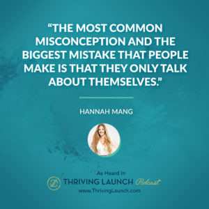 Hannah Mang How To Write An About Me Page Thriving Launch Podcast