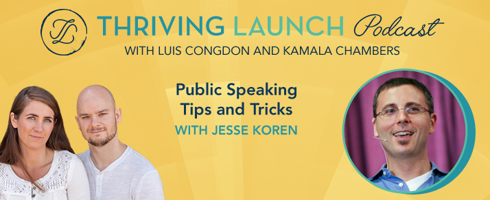Public Speaking Tips and Tricks – Jesse Koren