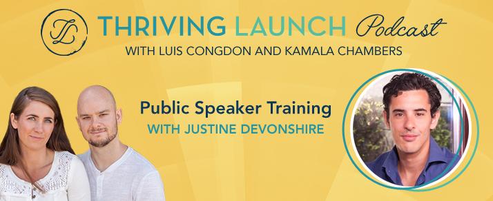 Public Speaker Training – Justin Devonshire