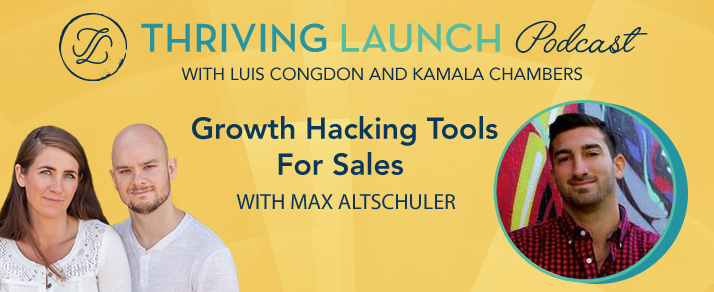 Growth Hacking Tools For Sales – Max Altschuler