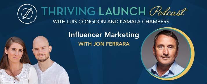 Influencer Marketing – Jon Ferrara